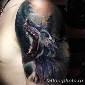 Фото рисунка тату оборотень 24.11.2018 №069 - photo tattoo werewolf - tattoo-photo.ru