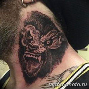 Фото рисунка тату оборотень 24.11.2018 №071 - photo tattoo werewolf - tattoo-photo.ru