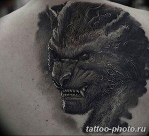 Фото примеры рисунка татуировки с оборотнем от 24112018