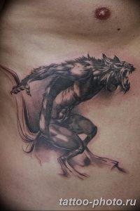 Фото рисунка тату оборотень 24.11.2018 №079 - photo tattoo werewolf - tattoo-photo.ru