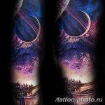 Фото рисунка тату планеты 04.11.2018 №010 - tattoo photos of the planet - tattoo-photo.ru