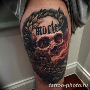 Фото рисунка тату череп 24.11.2018 №001 - photo tattoo skull - tattoo-photo.ru