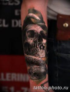 Фото рисунка тату череп 24.11.2018 №002 - photo tattoo skull - tattoo-photo.ru
