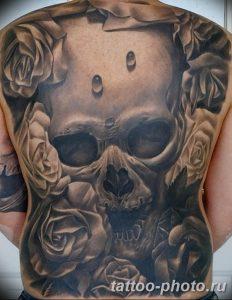 Фото рисунка тату череп 24.11.2018 №010 - photo tattoo skull - tattoo-photo.ru