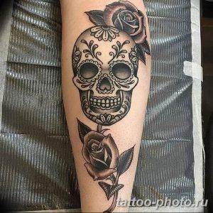 Фото рисунка тату череп 24.11.2018 №019 - photo tattoo skull - tattoo-photo.ru