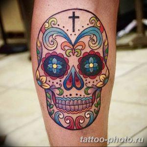 Фото рисунка тату череп 24.11.2018 №021 - photo tattoo skull - tattoo-photo.ru
