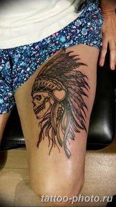 Фото рисунка тату череп 24.11.2018 №033 - photo tattoo skull - tattoo-photo.ru