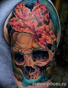 Фото рисунка тату череп 24.11.2018 №035 - photo tattoo skull - tattoo-photo.ru