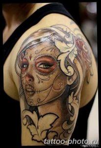 Фото рисунка тату череп 24.11.2018 №036 - photo tattoo skull - tattoo-photo.ru