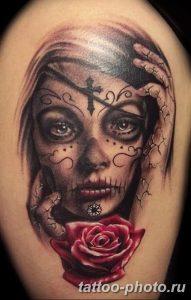 Фото рисунка тату череп 24.11.2018 №037 - photo tattoo skull - tattoo-photo.ru
