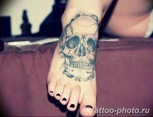 Фото рисунка тату череп 24.11.2018 №052 - photo tattoo skull - tattoo-photo.ru