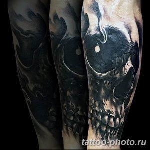Фото рисунка тату череп 24.11.2018 №053 - photo tattoo skull - tattoo-photo.ru