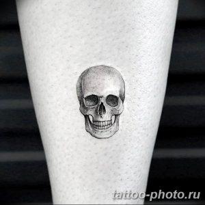 Фото рисунка тату череп 24.11.2018 №055 - photo tattoo skull - tattoo-photo.ru