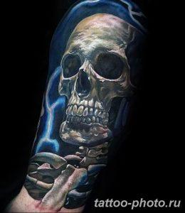Фото рисунка тату череп 24.11.2018 №056 - photo tattoo skull - tattoo-photo.ru