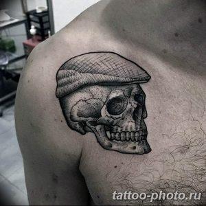 Фото рисунка тату череп 24.11.2018 №057 - photo tattoo skull - tattoo-photo.ru