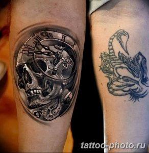 Фото рисунка тату череп 24.11.2018 №060 - photo tattoo skull - tattoo-photo.ru