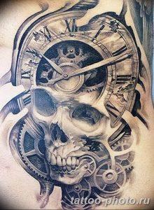 Фото рисунка тату череп 24.11.2018 №069 - photo tattoo skull - tattoo-photo.ru