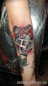Фото рисунка тату череп 24.11.2018 №071 - photo tattoo skull - tattoo-photo.ru