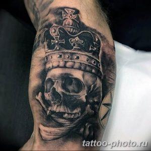 Фото рисунка тату череп 24.11.2018 №077 - photo tattoo skull - tattoo-photo.ru