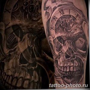 Фото рисунка тату череп 24.11.2018 №084 - photo tattoo skull - tattoo-photo.ru