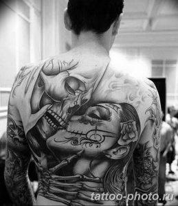 Фото рисунка тату череп 24.11.2018 №098 - photo tattoo skull - tattoo-photo.ru