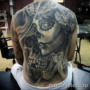 Фото рисунка тату череп 24.11.2018 №100 - photo tattoo skull - tattoo-photo.ru