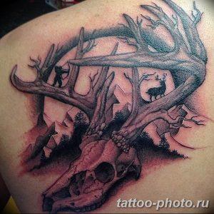 Фото рисунка тату череп 24.11.2018 №102 - photo tattoo skull - tattoo-photo.ru