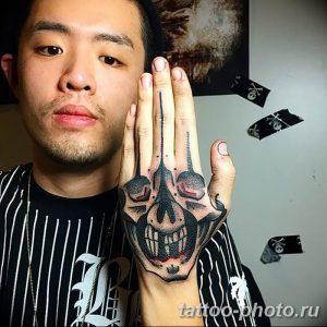 Фото рисунка тату череп 24.11.2018 №103 - photo tattoo skull - tattoo-photo.ru
