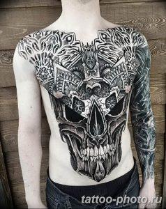 Фото рисунка тату череп 24.11.2018 №108 - photo tattoo skull - tattoo-photo.ru