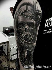 Фото рисунка тату череп 24.11.2018 №111 - photo tattoo skull - tattoo-photo.ru