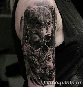 Фото рисунка тату череп 24.11.2018 №113 - photo tattoo skull - tattoo-photo.ru