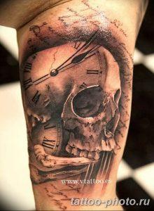 Фото рисунка тату череп 24.11.2018 №114 - photo tattoo skull - tattoo-photo.ru