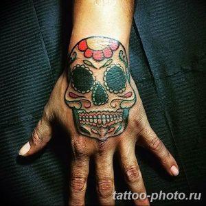 Фото рисунка тату череп 24.11.2018 №118 - photo tattoo skull - tattoo-photo.ru