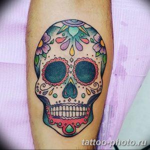 Фото рисунка тату череп 24.11.2018 №121 - photo tattoo skull - tattoo-photo.ru