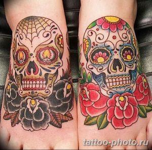 Фото рисунка тату череп 24.11.2018 №125 - photo tattoo skull - tattoo-photo.ru