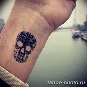 Фото рисунка тату череп 24.11.2018 №126 - photo tattoo skull - tattoo-photo.ru