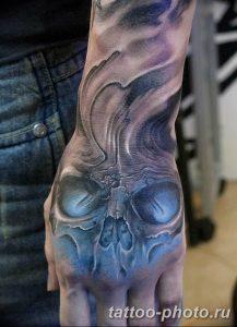 Фото рисунка тату череп 24.11.2018 №128 - photo tattoo skull - tattoo-photo.ru