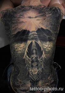 Фото рисунка тату череп 24.11.2018 №130 - photo tattoo skull - tattoo-photo.ru