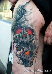 Фото рисунка тату череп 24.11.2018 №134 - photo tattoo skull - tattoo-photo.ru