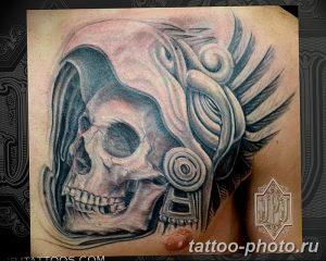 Фото рисунка тату череп 24.11.2018 №137 - photo tattoo skull - tattoo-photo.ru