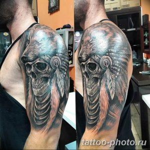 Фото рисунка тату череп 24.11.2018 №138 - photo tattoo skull - tattoo-photo.ru