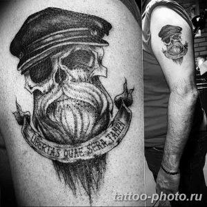 Фото рисунка тату череп 24.11.2018 №139 - photo tattoo skull - tattoo-photo.ru