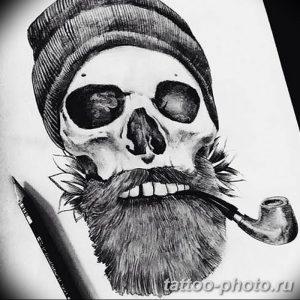 Фото рисунка тату череп 24.11.2018 №140 - photo tattoo skull - tattoo-photo.ru