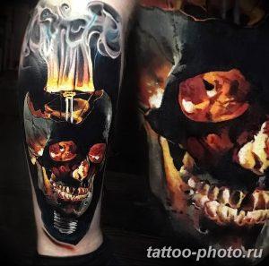 Фото рисунка тату череп 24.11.2018 №144 - photo tattoo skull - tattoo-photo.ru