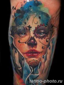 Фото рисунка тату череп 24.11.2018 №146 - photo tattoo skull - tattoo-photo.ru