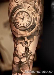 Фото рисунка тату череп 24.11.2018 №151 - photo tattoo skull - tattoo-photo.ru