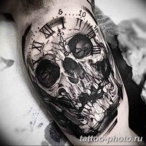 Фото рисунка тату череп 24.11.2018 №152 - photo tattoo skull - tattoo-photo.ru