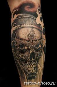 Фото рисунка тату череп 24.11.2018 №159 - photo tattoo skull - tattoo-photo.ru