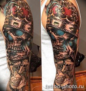 Фото рисунка тату череп 24.11.2018 №164 - photo tattoo skull - tattoo-photo.ru