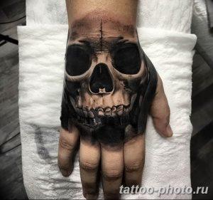 Фото рисунка тату череп 24.11.2018 №167 - photo tattoo skull - tattoo-photo.ru